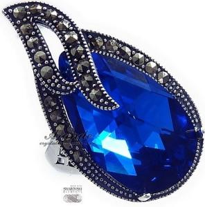 Swarovski Pierscionek Blue Comet Admire