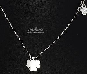 BEAUTIFUL NECKLACE SENSATION CLOVER  STERLING SILVER 925