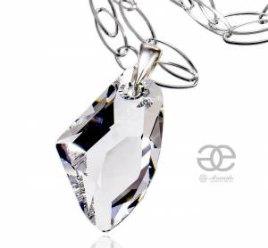 SWAROVSKI NECKLACE *CRYSTAL GALACTIC* STERLING SILVER