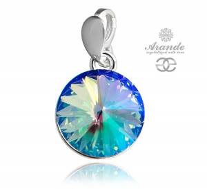 NEW SWAROVSKI BEAUTIFUL  PENDANT PARADISE SHINE PARIS STERLING SILVER