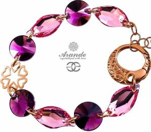 SWAROVSKI BEAUTIFUL BRACELET *SENSATION* ROSE GOLD SILVER