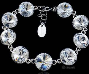 SWAROVSKI BEAUTIFUL BRACELET CRYSTAL PARIS STERLING SILVER 925