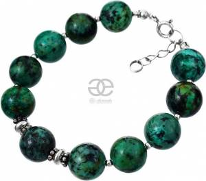 TURQUOISE AFRICAN BRACELET SILVER