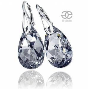 SWAROVSKI BEAUTIFUL EARRINGS COMET STERLING SILVER