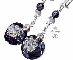 SWAROVSKI CLIPSES NIGHT MILO FLOW STERLING SILVER