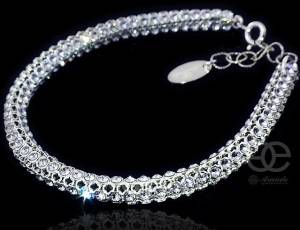 CRYSTALLIZED BEAUTIFUL BRACELET SWAROVSKI CRYSTALS
