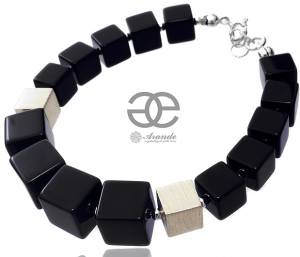 NATURAL ONYX BEAUTIFUL BRACELET STERLING SILVER 925