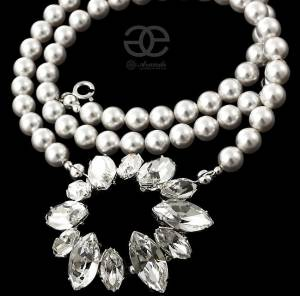 CRYSTAL BEAUTIFUL NECKLACE SWAROVSKI CRYSTALS