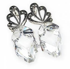 SWAROVSKI UNIQUE EARRINGS VICTORY ADORE STERLING SILVER 925
