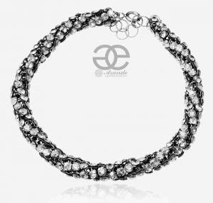 SWAROVSKI UNIQUE BRACELET CRYSTALLIZED STERLING SILVER 925