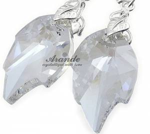 TYLKO U NAS SWAROVSKI komplet MOONLIGHT LEAF LONG